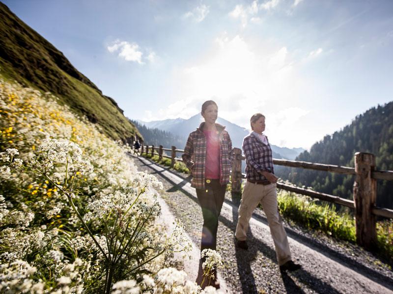 Wandern in der Skiarena Samnaun-Ischgl