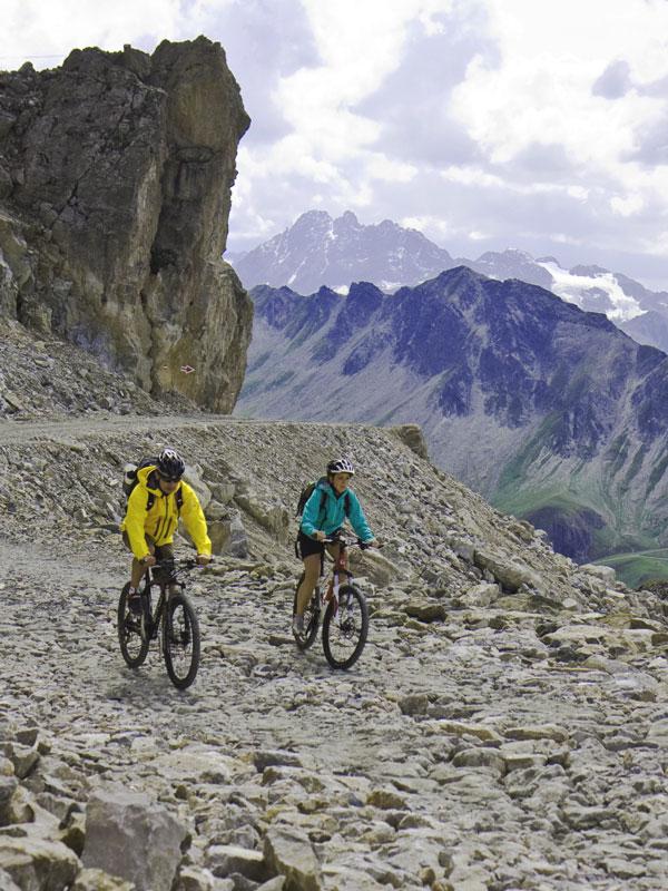 Zahlreiche Mountainbike-Touren für Anfänger bis Fortgeschrittene