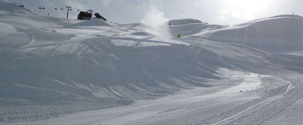 Samnaun - Ischgl, Skiarena