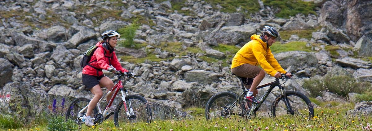 Mountainbiken & Wandern in Samnaun-Igschl