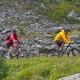 Biken in Samnaun-Igschl