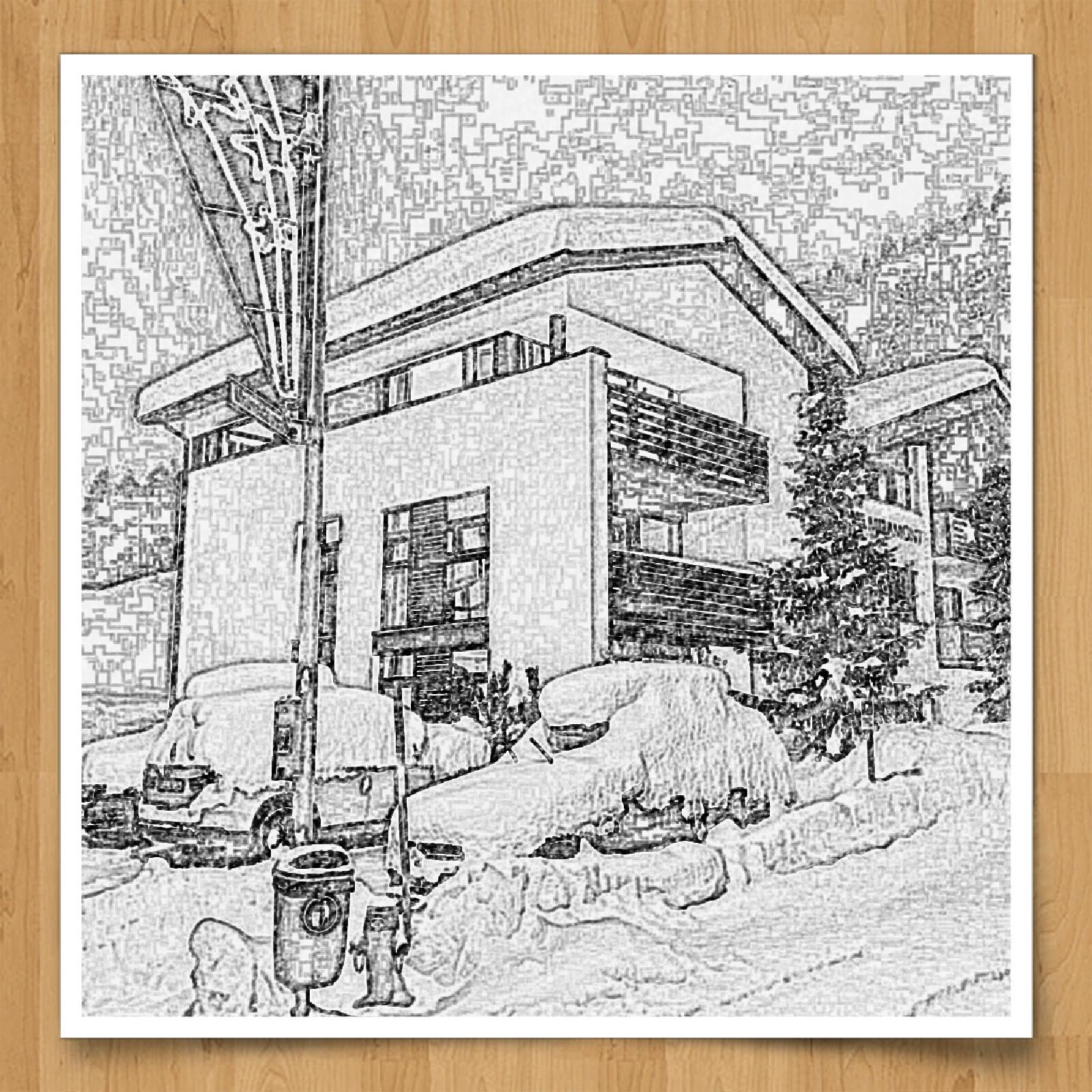4-Sterne Appartements - Winterzeichung